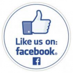 Image of Like us on facebook thumbs up